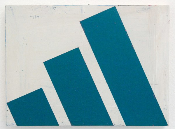 Ellen de Bruijne Projects - Alain Biltereyst - Onbekende titel - 17x23cm Acrylverf op multiplex