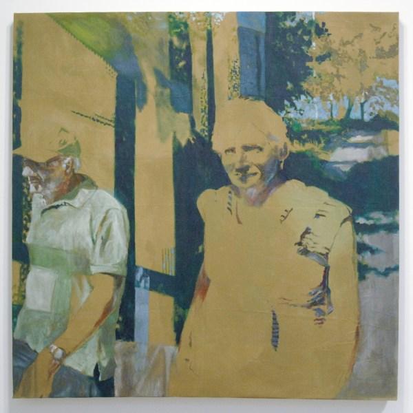 Eline van Hove - In my genes - 133x134cm Olieverf op canvas