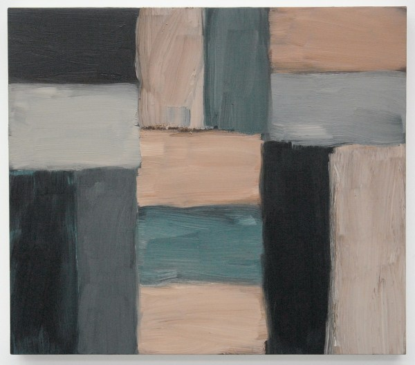 Sean Scully - Doric Metes - Olieverf op linnen, 2013