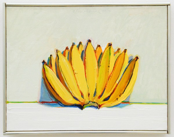 Wayne Thiebaud - Bananas - 1975