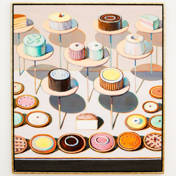 Wayne Thiebaud - Cakes & Pies - 1994-1995