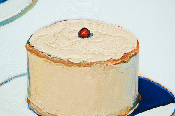 Wayne Thiebaud - Display Cakes - 1963 (detail)