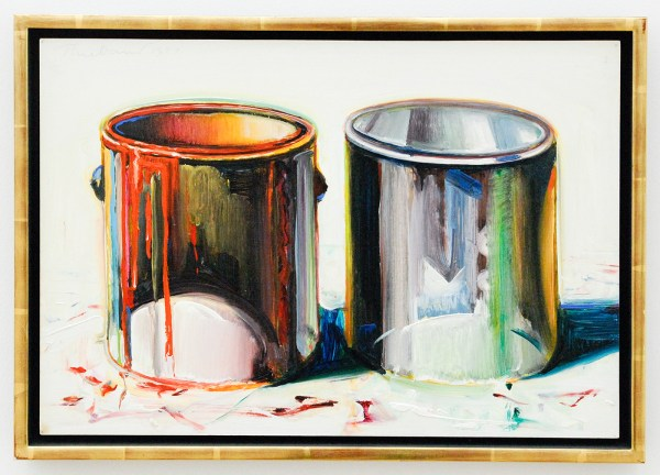Wayne Thiebaud - Two Paint Cans - 1987
