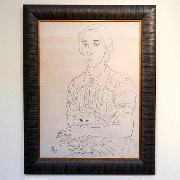 Oranda Jin Japanese Painters - Joujita Tsuguharu