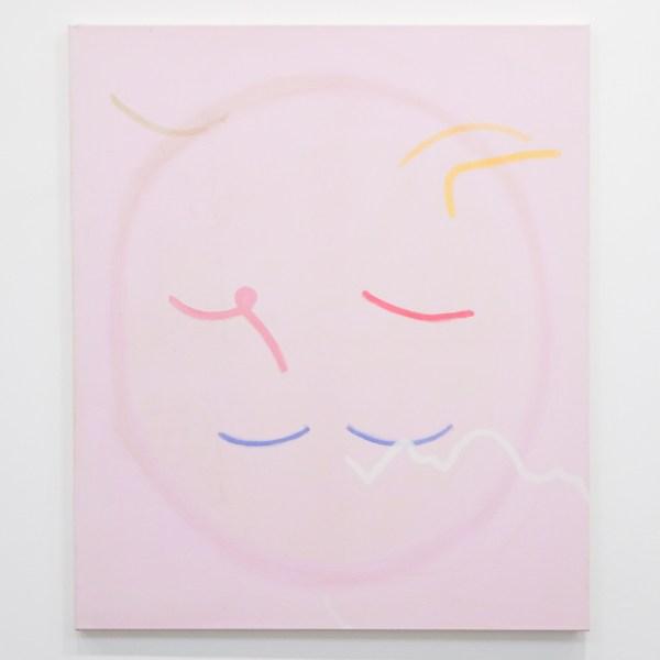 Paul Drissen - Untitled - 135x115cm Gouache en caseine tempera op canvas