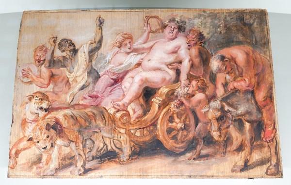 Peter Paul Rubens - De triomftocht van Bacchus - Olieverf op paneel, 1636