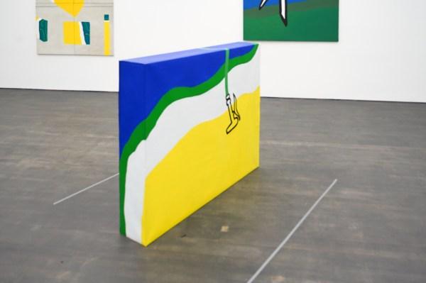 Raoul de Keyser - Linnen doos II - Olieverf op doek op houten kader, 1966-1967