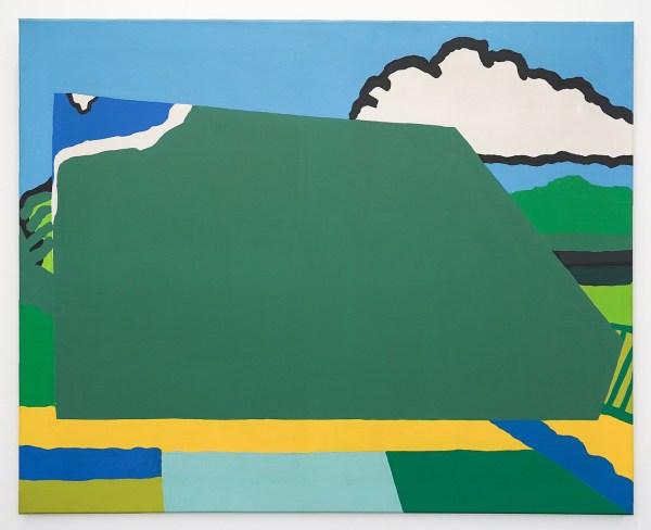 Raoul de Keyser - Hommage aan Brusselmans - Acrylverf en dispersie op doek, 1970