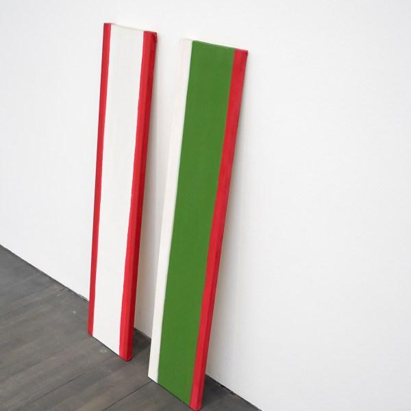 Raoul de Keyser - Slice VII & VI - Acrylverf op doek, 1971