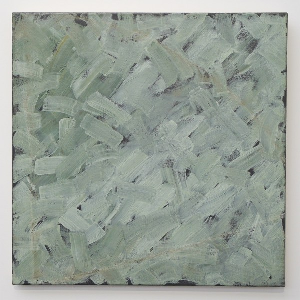 Raoul de Keyser - Krijthoekcorrectie - Olieverf en krijt op doek, 1978