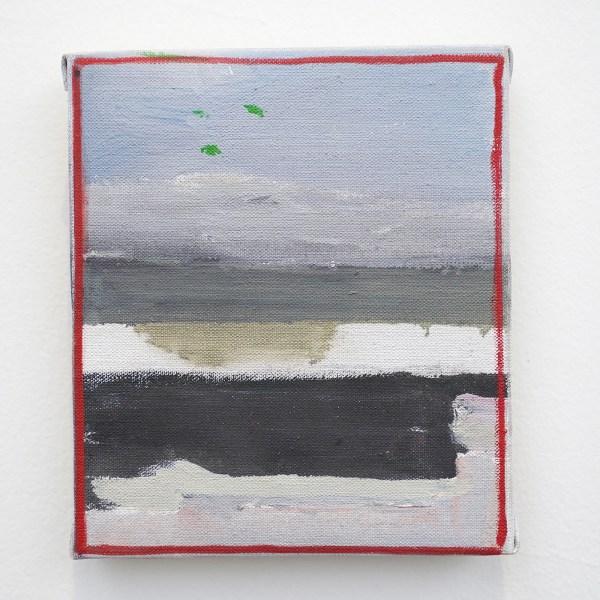 Raoul de Keyser - Oever - Olieverf op doek op hout, 2005