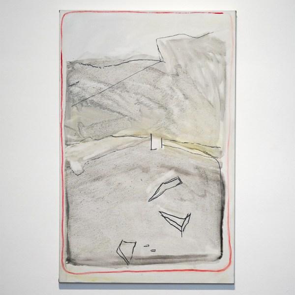 Raoul de Keyser - Wait - Olieverf en houtskool op doek, 2006