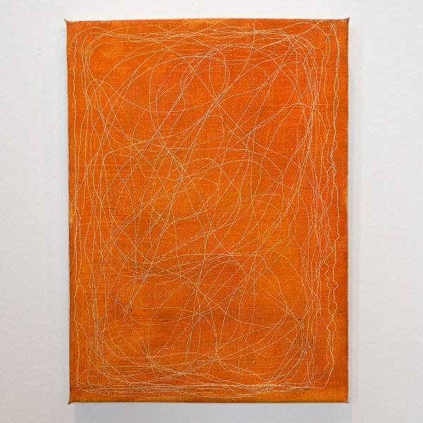 Raoul de Keyser - Untangle - Olieverf op doek op hout, 2011