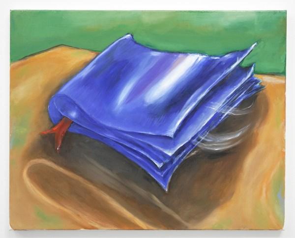 Micha Patiniott - Book of Void - 51x61cm Olieverf op linnen