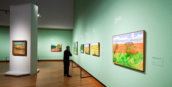 Van Gogh & David Hockney Overzicht