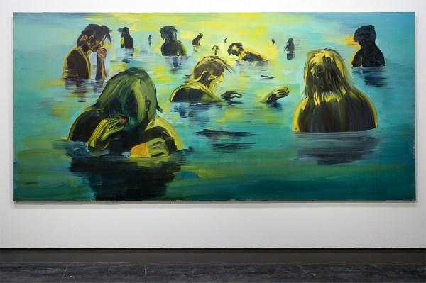 Erik van Lieshout - Zonder Titel - Olieverf op doek - ABN AMRO collectie