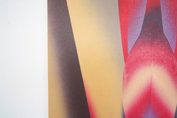 Hadassah Emmerich - Bodyscape - 600x200cm Olieverf op canvas (detail)