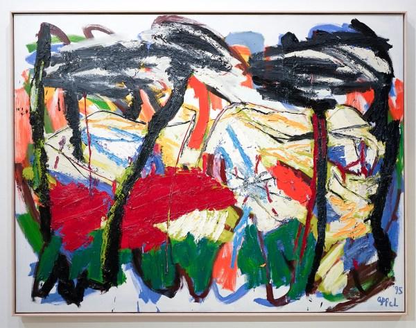 Karel Appel - Horizon of Tuscany no 036 - Olieverf op doek - ING Collectie