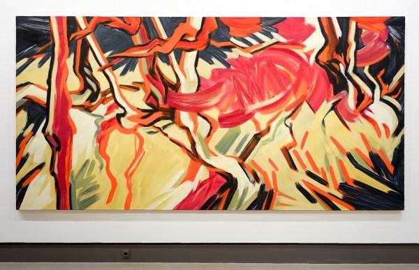 Robert Zandvliet - Zonder Titel - Tempera op linnen - Collectie AkzoNobel Art Foundation