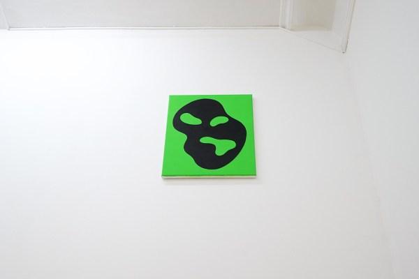 Dieter Durinck - Divine Discontent (Hans Arp, Palette de Nuages, 1950) - 50x40cm Olieverf op canvas