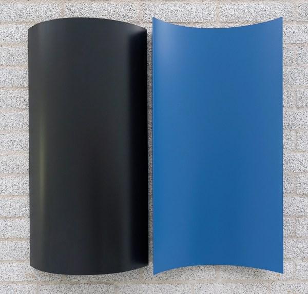 Charlotte Posenenske - Serie B Reliefs - Aluminiumplaat en RAL spuitverf, 1967-2019