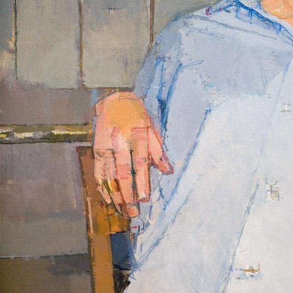 Euan Uglow - Miss Benge - Olieverf op doek, 1961 (detail)