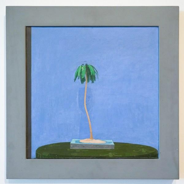 Euan Uglow - Palm Tree - Olieverf op doek, 1971