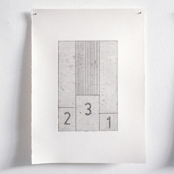 Jo de Smedt - Trench Art - 15x10cm, Ets
