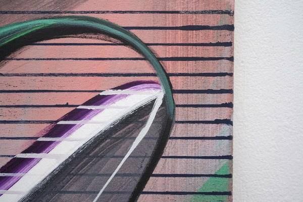 Janine van Oene - Look o Look - 165x125cm, Olieverf op canvas (detail)