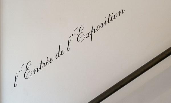 Marcel Broodthaers - l'Entree de l'Exposition