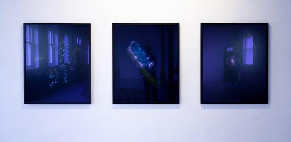 Marjolijn Dijkman - Earthing Discharge - Electrofotografie, 3 uit reeks van 15