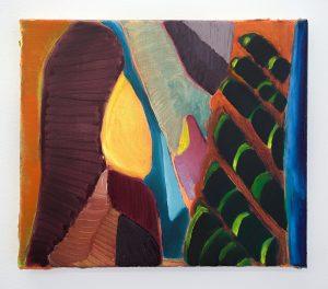 Julius Stibbe - Ain't no Sunshine - 25x35cm Olieverf op canvas