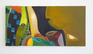 Julius Stibbe - Lief - 30x60cm Olieverf op canvas