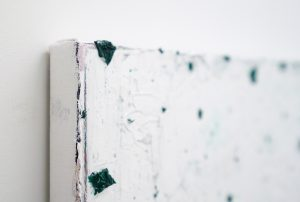 Ronald Zuurmond - Bij Nacht II - 40x45cm Olieverf op canvas (detail)