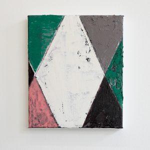 Ronald Zuurmond - Fragment II - 30x25cm Olieverf op canvas