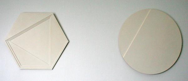 Ad Dekkers - Zeshoek en Driehoek in Overgang