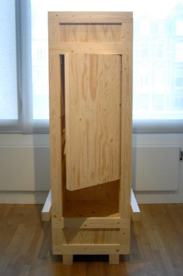 Alicia Framis - Stendhal Syndrome Pavilion - 220x130x70cm Hout