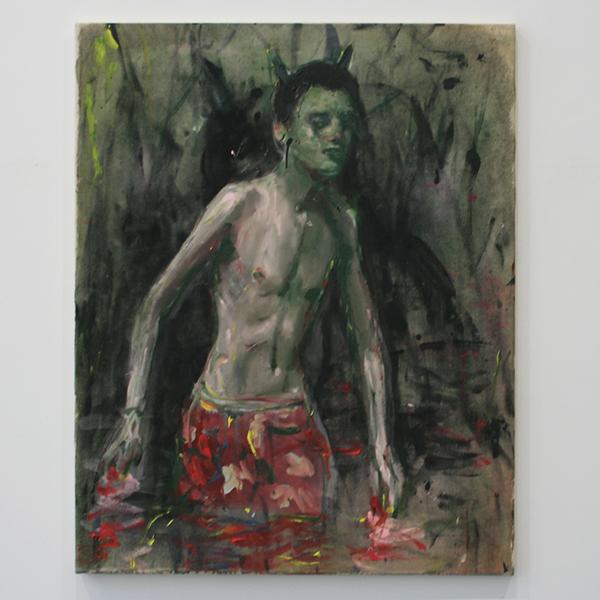 Andrej Dubravsky - Untitled 003 - 80x100cm Acrylverf op linnen