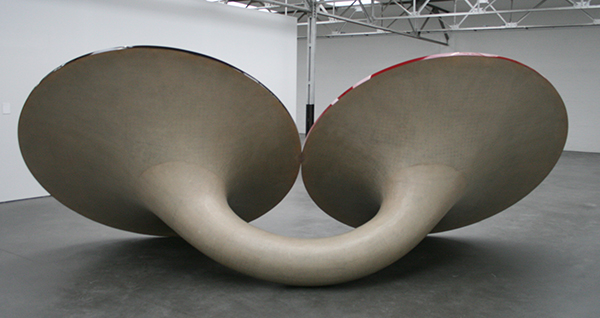 Anish Kapoor - I Have Places Like These, You Have Places Like These - Hars en verf (achterzijde)