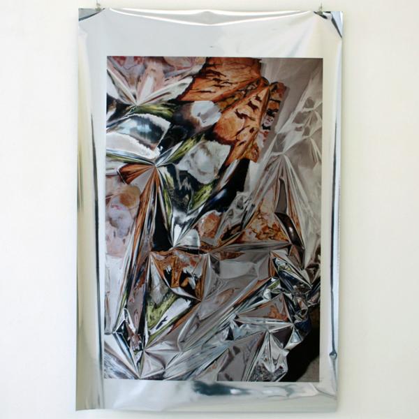 Annde de Vries - Cave2Cave - Digitale photoprint op spiegelfolie