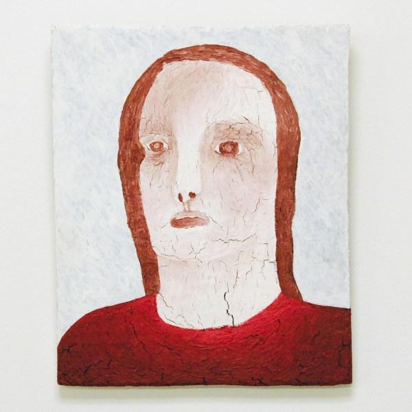 Anne Forest - Henrietta - 28x23cm Olieverf en gesso op paneel