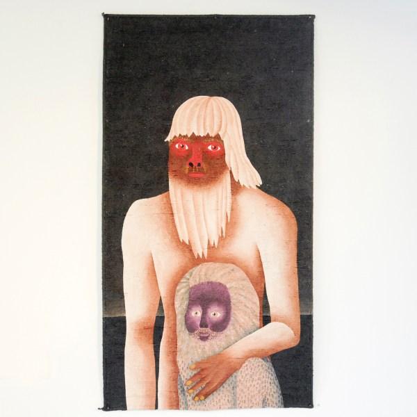Anne Forest - Hopkin & Gregg - 110x59cm Acrylverf op tapijt
