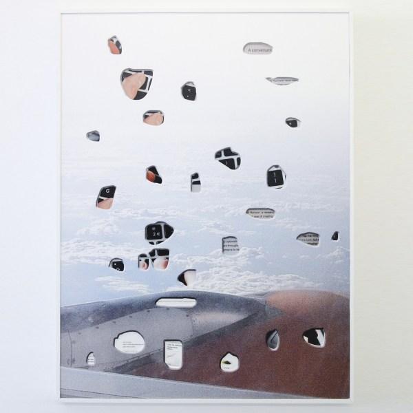 Anne de Vries - Interface, Easyjet - 164x124cm Digitale prints met digitale uitsnedes