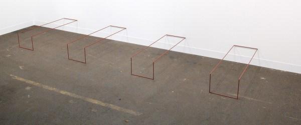 Annemarie Verna Galerie - Fred Sandback