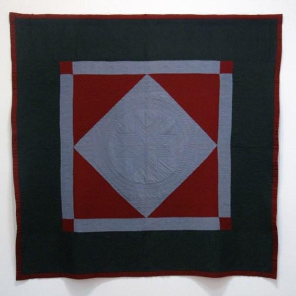 Anoniem - Zwevende diament - Wol, 1930