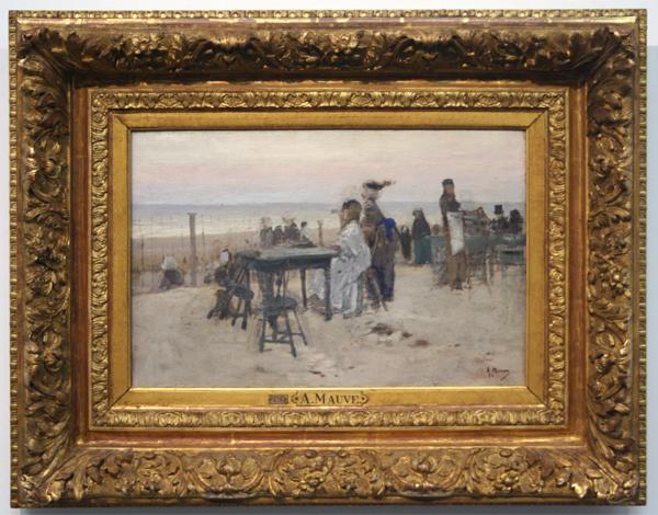 Anton Mauve - Te Scheveningen - Olieverf op doek