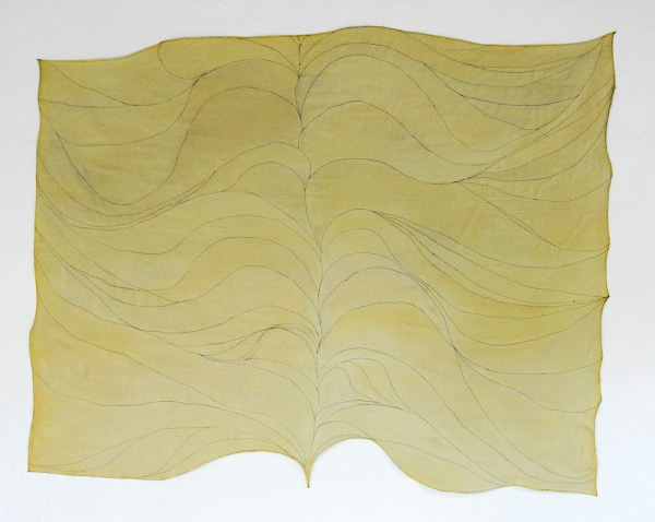 Antoniette Peeters - 2014 (4-7-14) - 234x288cm Acrylverf op gestikt linnen