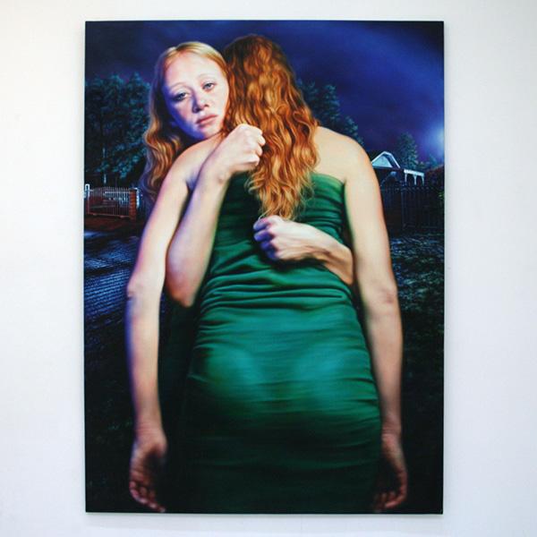 Anya Janssen - Double Barrelled - 230x160cm