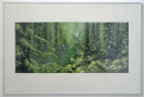 Arik Roper - Onbekende titel - Aquarel, inkt en gouache op papier (?)
