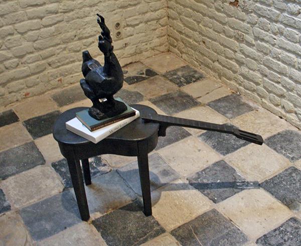 Arnoud Holleman - Hoofstuk 14 - Brons, boeken over Rodin en tekst